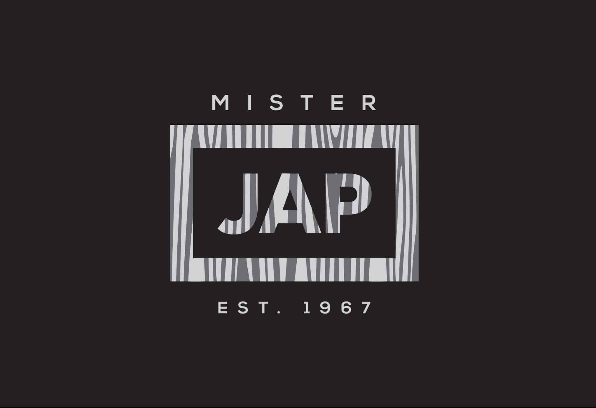Mr. Jap - logo dark